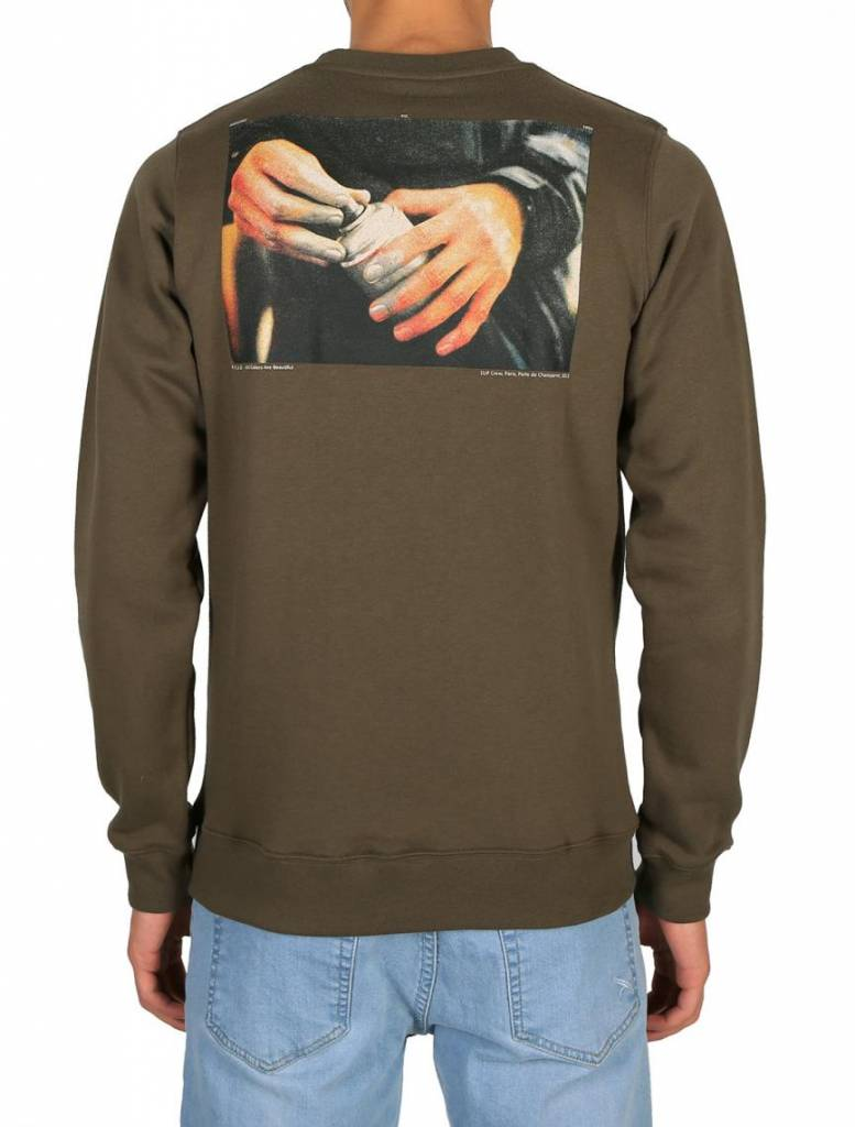 Iriedaily All Colors Crew - olive