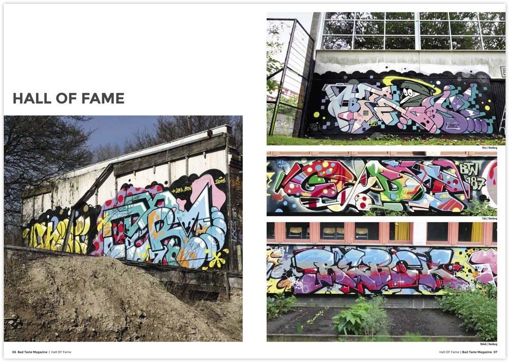 Bad Taste #22 Graffiti Magazin