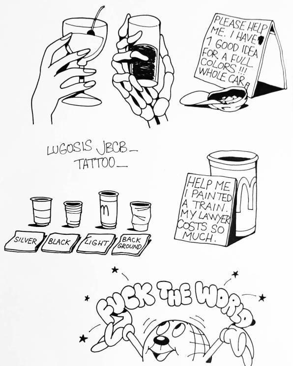 Montana BLACK ARTIST EDITION #14 von LUGOSIS