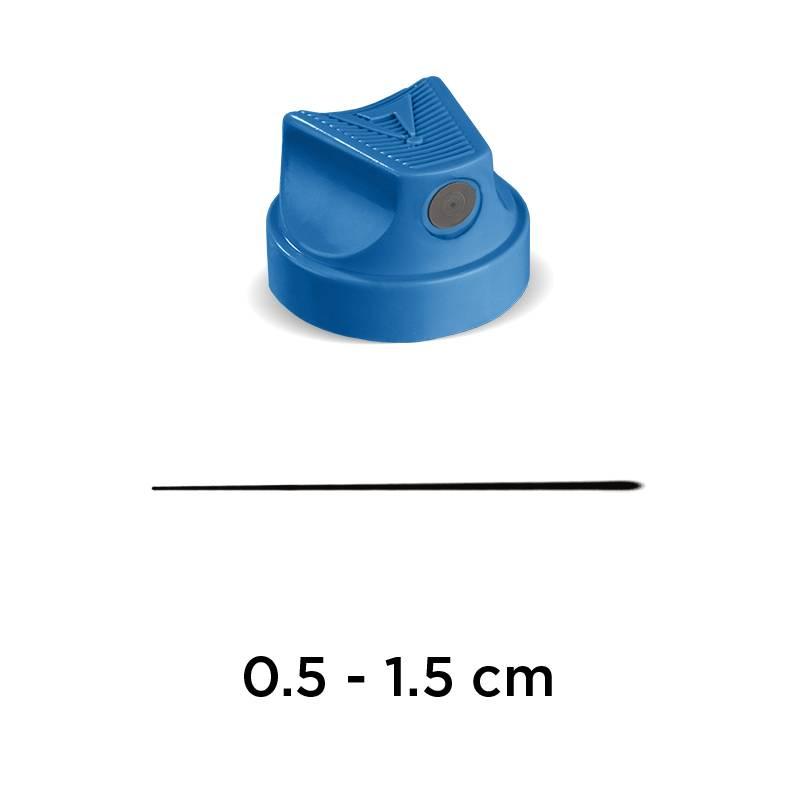 SUPERFINE SKINNY CAP Blue/Black