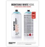 Montana WHITE 400ml Sprühdose