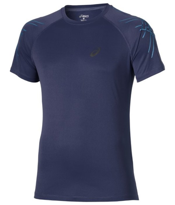 ASICS Asics Shirt Stripe Heren