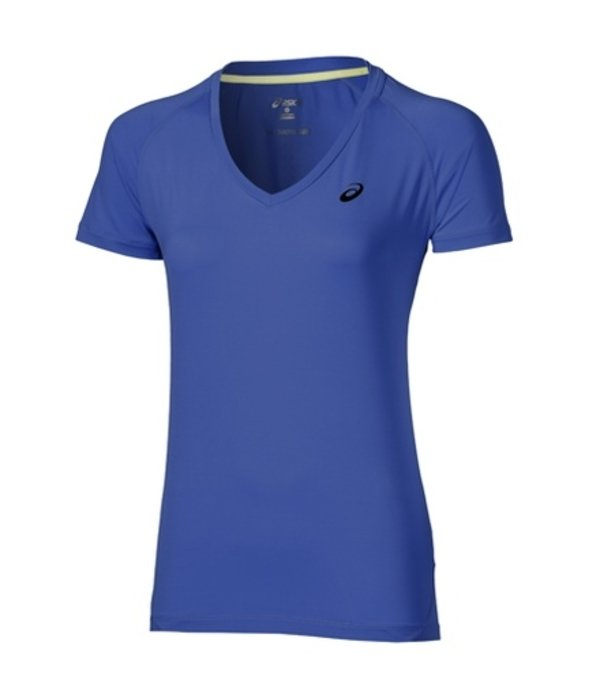 ASICS Asics Shirt Race Dames Blauw