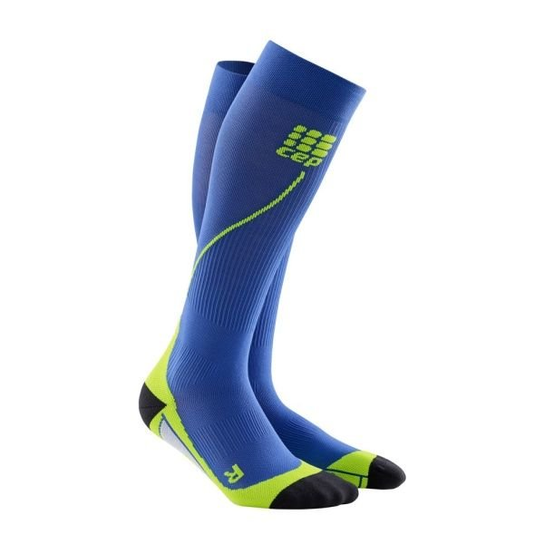 Run Socks 2.0 Heren Blauw/groen