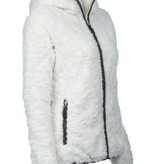 James and Nicholson Vest Hoody Structure Fleece Dames