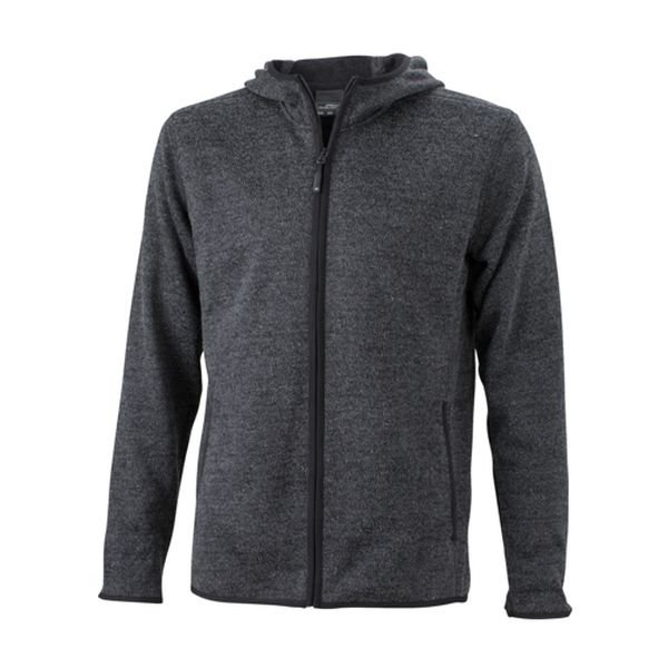 Hoody Knitted Fleece