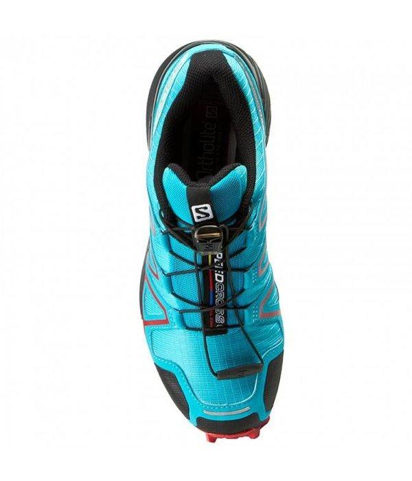 Salomon Speedcross 4 Dames Zwart/Blauw/Rood