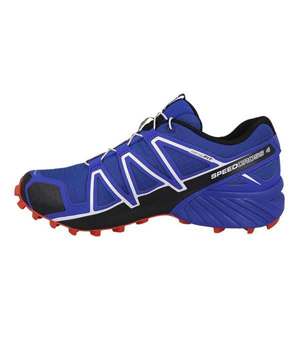 Salomon Speedcross 4 Heren Blauw/Rood
