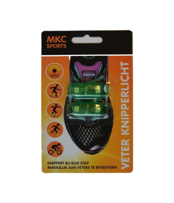 MKC Sports Veter knipperlicht groen