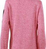 James and Nicholson Vest Knitted Fleece Jack Dames