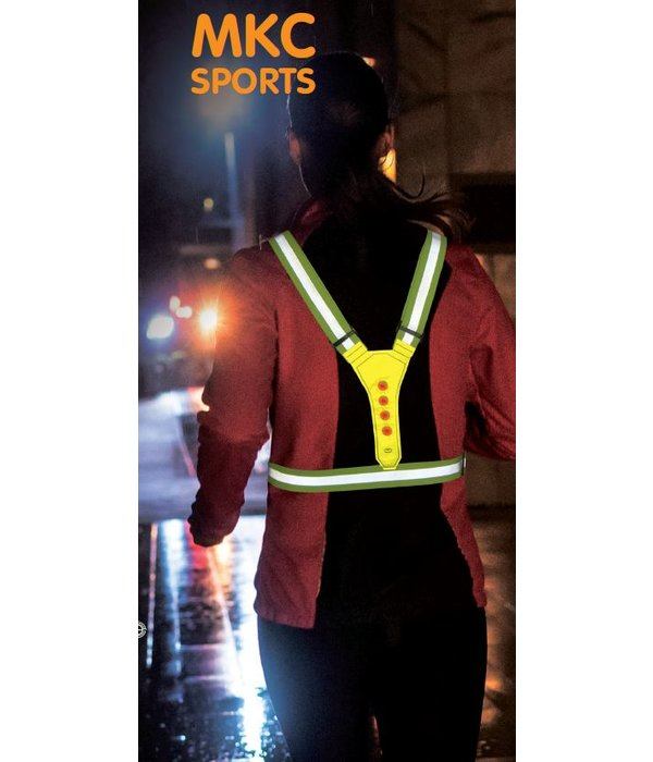 MKC Sports Led Running Vest