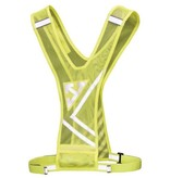 Hardlooplampje + Veiligheidsvest Geel