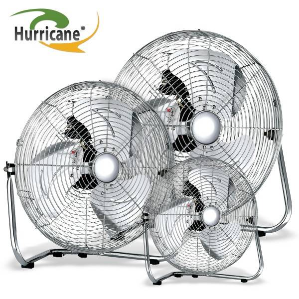 """Fan, Hurricane Floor - Ø 20 cm (8"""")"""