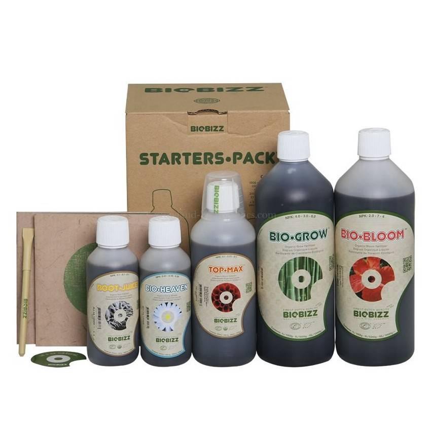 Biobizz Starters Pack 250 ml