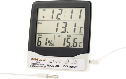 Thermo-hygrometer 303 with outdoor temperature measurement