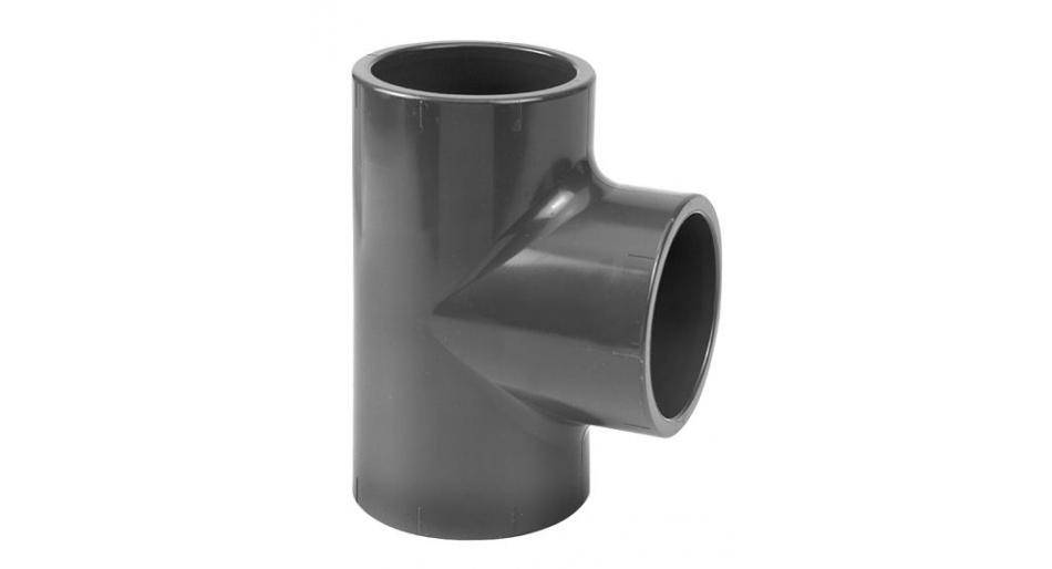 PVC Tee equal radius 32mm