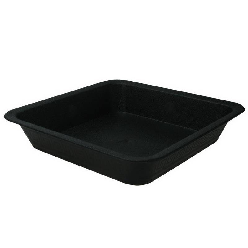 Square Saucer Black (Various)