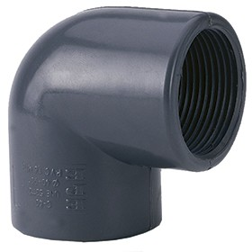 "PVC Elbow 32 x 1"" internal thread"