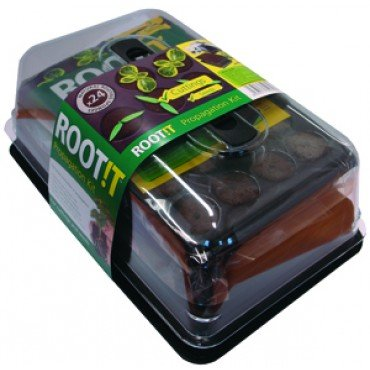 ROOT!T Growth Kit for Root Sponges incl. Propagator