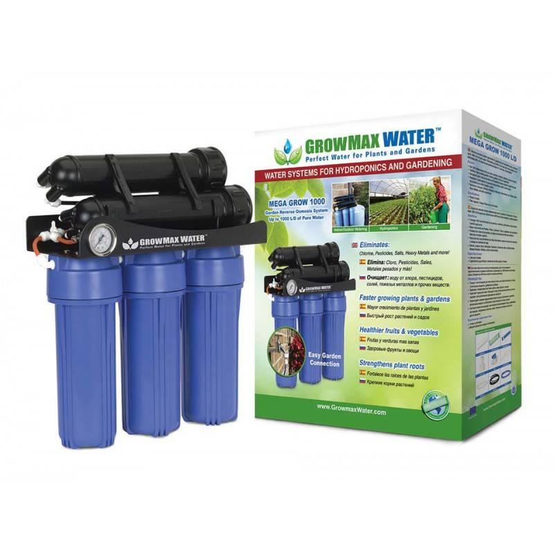 Mega Grow 1000 - Filtro Osmosis Inversa