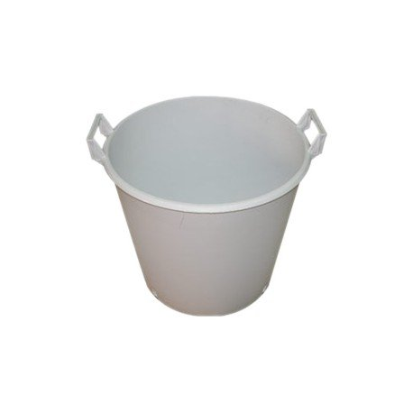 Round White Plant Pot with handles (Various)