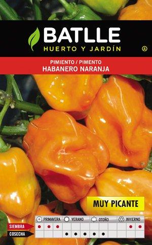 Batlle Pimiento Habanero Naranja