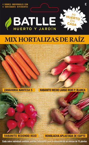 Batlle Root Vegetables Mix