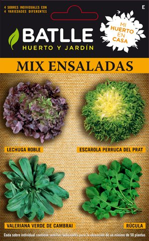 Batlle Salad Mix