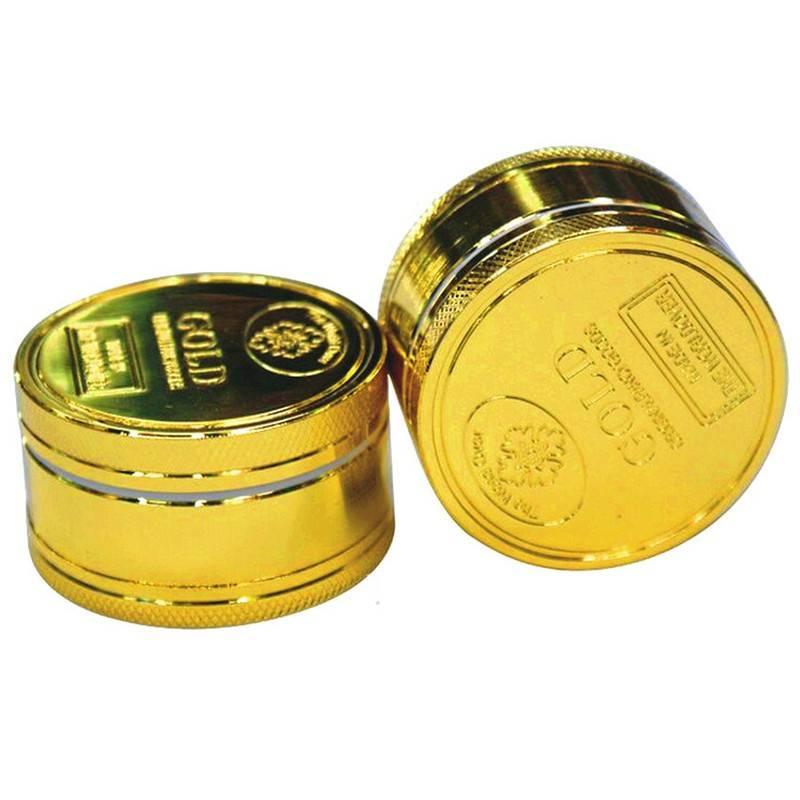 Grinder 3p 50mm Moneda Oro