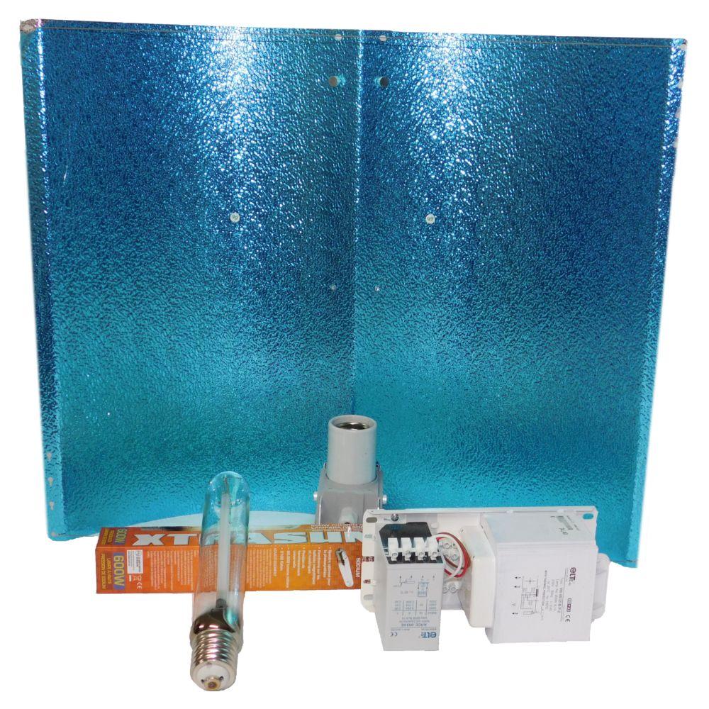 Kit Elt 600W Alu2 con Reflector Alas de Gaviota