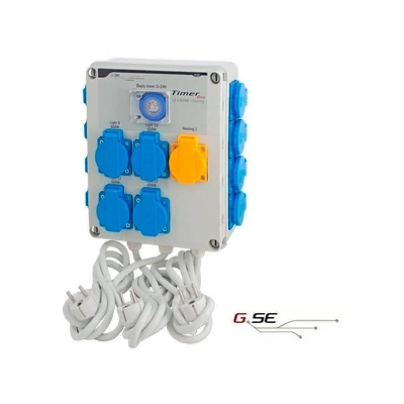 Cuadro Temporizador 24 X 600 W