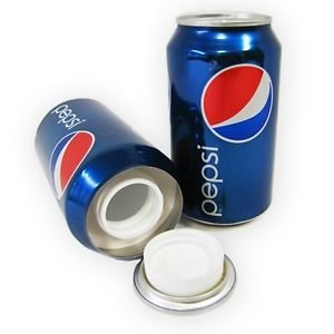 Pepsi hidden stash can