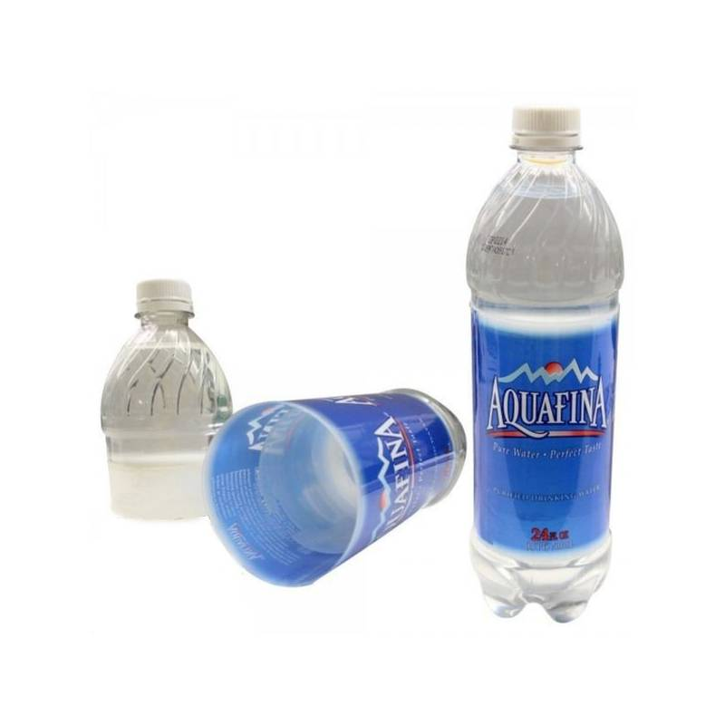 Aquafina secret stash bottle.