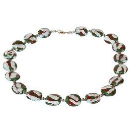 Kazuri Halsketten Pitapat Green
