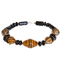 Kazuri Halsketten Warrior Beehive