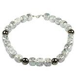 Kazuri Halsketten Edle Halsketten in Granit Gold
