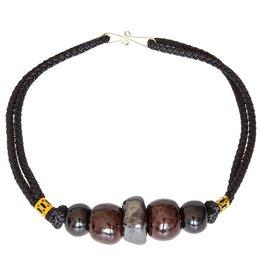 Kazuri Halsketten Ngong Caravan