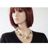 Kazuri Halsketten Handgefertigter Schmuck mit Bemalung