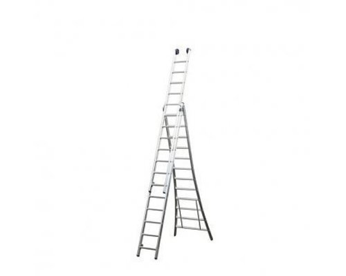 Maxall Driedelige ladder 3x10
