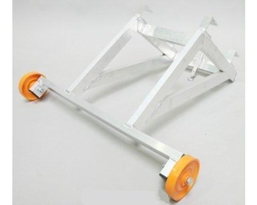 Aluminium ladderafhouder