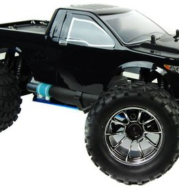 HSP Bug crusher 1: 10 nitro RC monster truck 2.4ghz - zwarte pick up