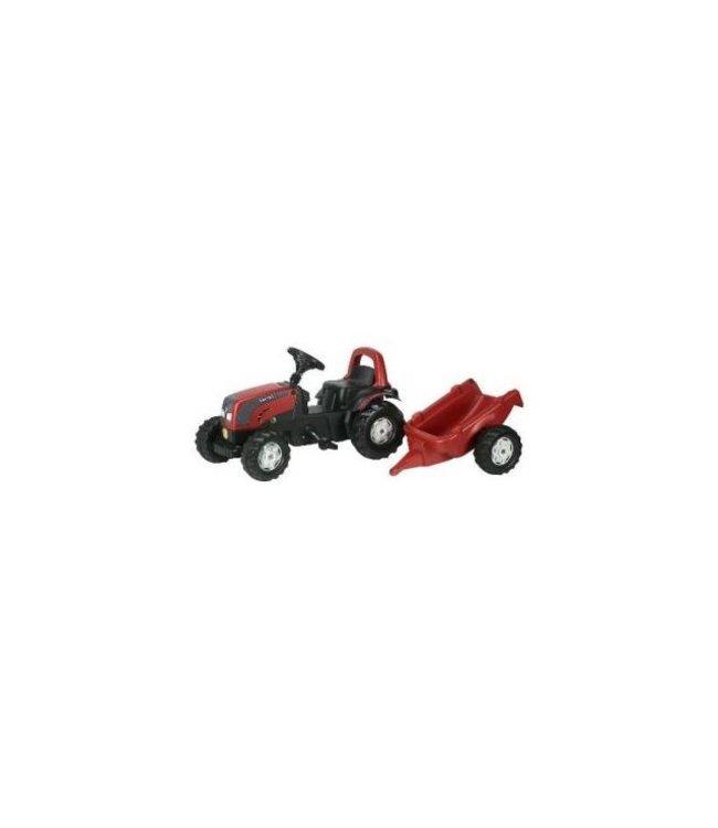 Rolly Toys RollyKid Valtra Tractor met Aanhanger