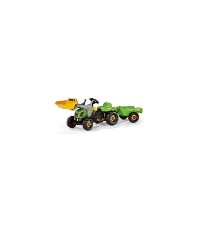 Rolly Toys Rolly Toys RollyKid-X Tractor met Lader en Aanhanger Groen