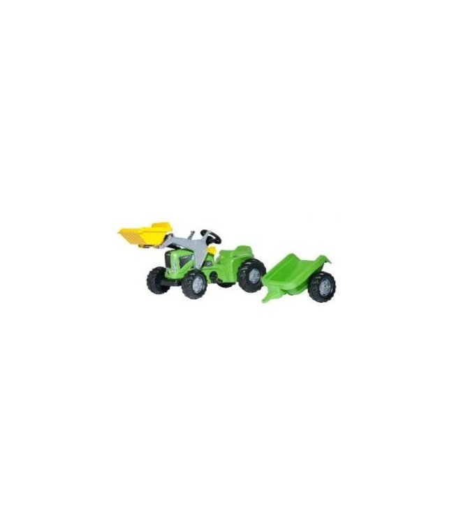 Rolly Toys Rolly Toys RollyKiddy Futura Tractor met Lader en Aanhanger