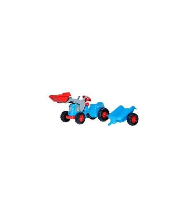 Rolly Toys RollyKiddy Classic Tractor met Lader en Aanhanger