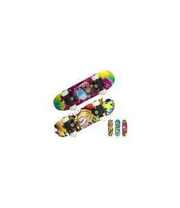 Basic Mini Skateboard 43cm Assorti