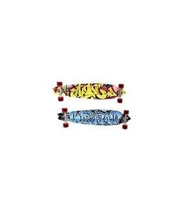 Basic Longboard Skateboard 91cm Assorti
