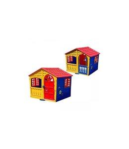 Palplay Speelhuis Fun Rood/Geel/Blauw