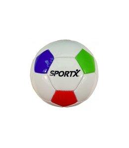 SportX Mini Voetbal Multi Opgeblazen
