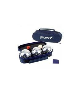 SportX SportX Jeu De Boules Set in Tas